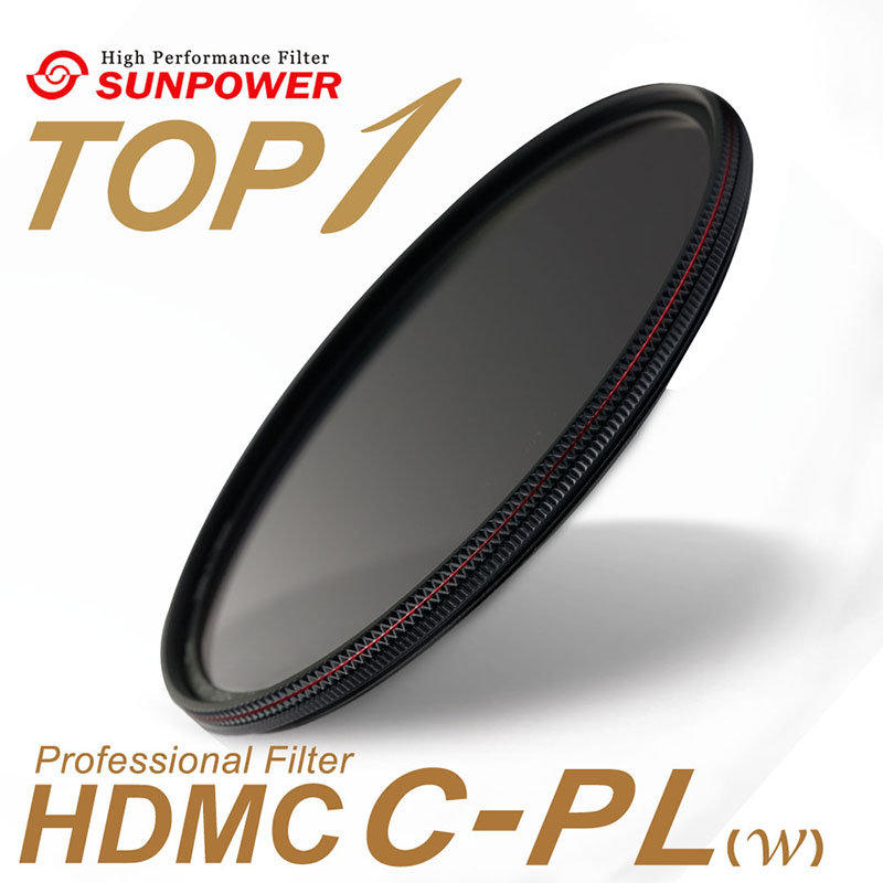 ◎相機專家◎ SUNPOWER TOP1 HDMC CPL 43mm 超薄鈦元素鍍膜偏光鏡 湧蓮公司貨