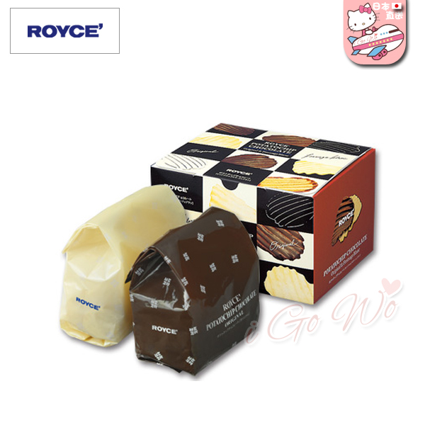 日本 ROYCE 巧克力 洋芋片巧克力 [標準+白乳酪]