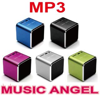 (( Music Angel )) 音樂天使 插卡MP3播放器 / 保證公司貨 / Mini MP3喇叭 / MP3音箱音響 / MD-06