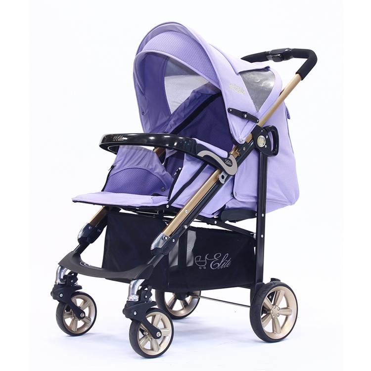 【淘氣寶寶】2015年 歐系車款 Zooper Waltz Z9 豪華睡袋版嬰兒車 - 舒適可換向,操控更靈活【紫藤蔓*金管框架】