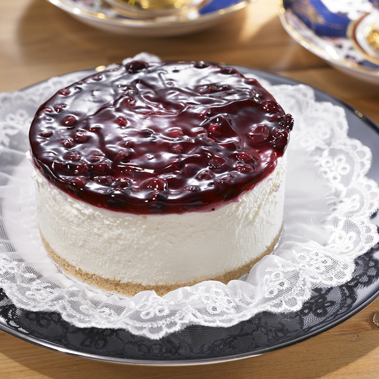 【8oz的幸福手工烘培坊】開幕慶 ? 限時特價 ↘$399免運 ? 藍莓低脂起司蛋糕(3.5吋))《買再送:店長私房甜點→生巧克力》