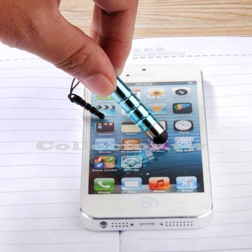 【K14092301】子彈頭智慧型手機電容手寫筆 蘋果iphone 三星 HTC 觸控筆
