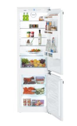 嘉儀 LIEBHERR 利勃 SICN3314 全崁式上下門冰箱(白色)(261公升)【零利率】※熱線07-7428010