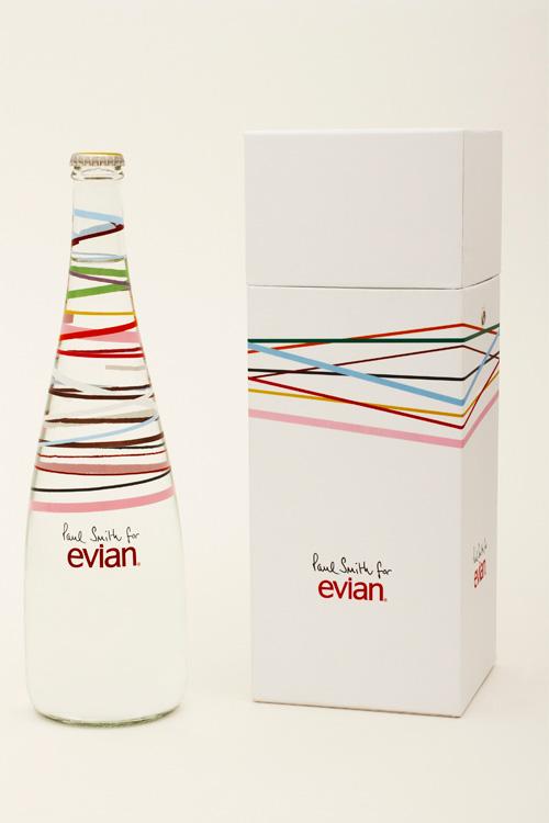 Evian  X Paul Smith 2010紀念水罐