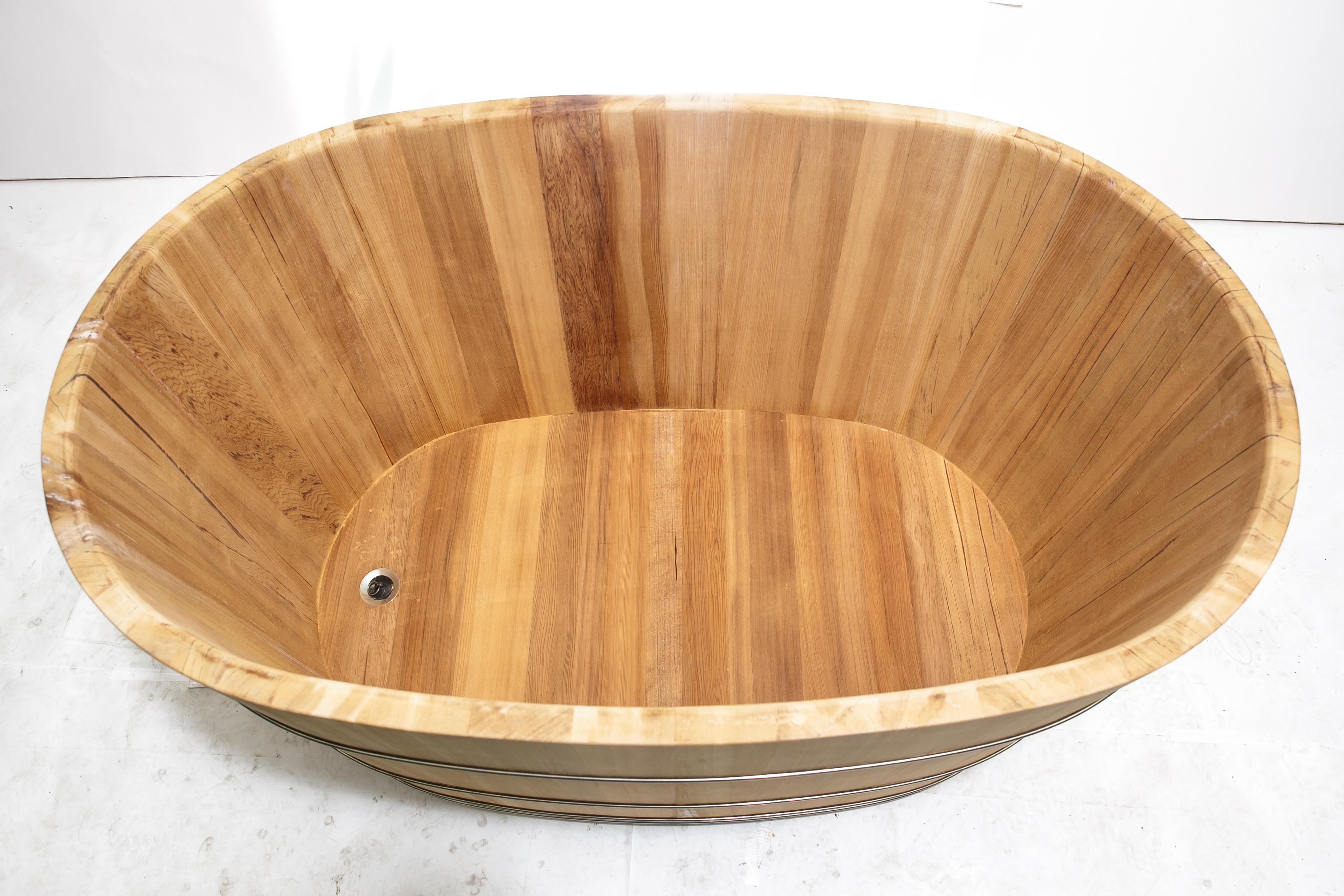 泡澡幫助血液循環 檜木檜木桶 泡澡桶126公分長(兩人份尺寸) )台灣第一領導品牌-雅典木桶 木浴缸、方形木桶、泡腳桶、蒸腳桶、蒸氣烤箱