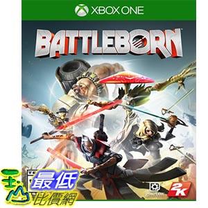 [現金價] 全新 Xbox One battleborn 為戰而生 亞版 中文版 含 首批特典+明信片