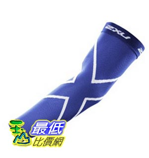 [美國直購] 2XU Compression Recovery Arm Sleeves 臂袖 S (Royal Blue)
