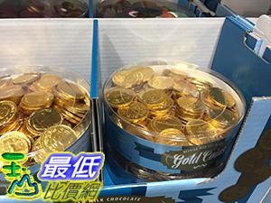 [105限時限量促銷] COSCO STEENLAND BELGIAN MILK CHOCOLATGE GOLD COINS 比利時金幣巧克力1公斤 C76990