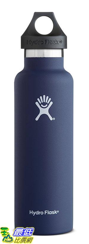 [105美國直購] Hydro Flask Insulated Stainless Steel Water Bottle, Standard Mouth, 21-Ounce