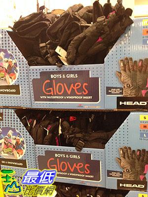 [105限時限量促銷] COSCO HEAD YOUTH WINTER GLOVES 防水防寒青少年運動手套 杜邦SORONAR 纖維材質 C1042402
