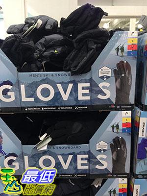 [105限時限量促銷] COSCO HEAD YOUTH WINTER GLOVES 防水防寒成人運動手套 杜邦SORONAR 纖維材質 C1042398