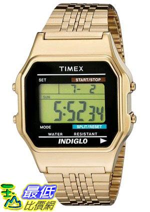 [105美國直購] Timex Unisex TW2P48200AB Originals Gold-Tone