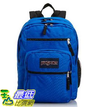 [COSCO代購 如果沒搶到鄭重道歉] Jansport 多功能後背包 Big Student 粉紅/橘色/深藍 W1077548