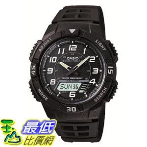 [東京直購] CASIO SOLAR POWER SYSTEM AQ-S800W-1BJF 黑面雙顯運動手錶