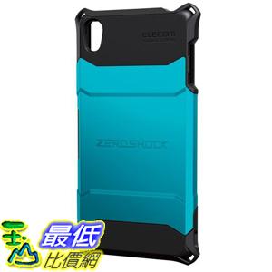 [現貨1個] ELECOM Xperia Z3 藍色 手機殼 保護殼 ZEROSHOCK PM-SOZ3ZEROBU  A107