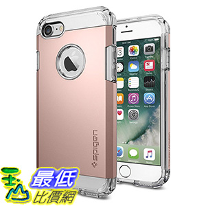 [美國直購] Spigen 042CS20492 玫瑰金 iphone7 iPhone 7 (4.7吋) Case [Tough Armor] HEAVY DUTY 手機殼 保護殼