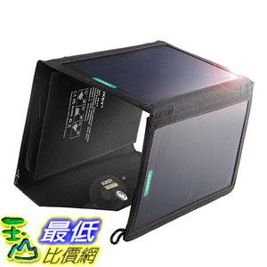 [東京直購] AUKEY PB-P2 20W 太陽能 USB port 手機 太陽能充電器 可折疊 適用5V裝置 iPhone/iPad/Galaxy