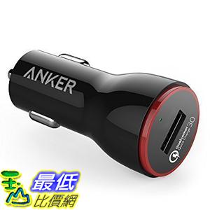 [美國直購] Anker A2210011 車用充電器 Quick Charge 3.0 24W USB Car Charger (Quick Charge 2.0 Compatible)