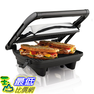 [美國直購] Hamilton Beach 25460A 三明治製造機 Panini Press Gourmet Sandwich Maker