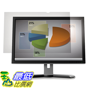 [美國直購] 3M AG21.5W9 Anti-Glare Filter 螢幕防眩光片(非防窺片) for Widescreen Desktop LCD Monitor 21.5吋 477 mm x ..