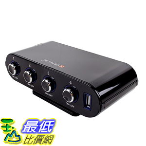 [美國直購] Satechi ST-CUC5P 車用充電器 車充 5-USB Port 12V Car Socket Extender Cigarette Splitter Charger
