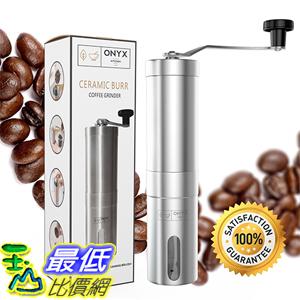 [美國直購] Onyx Kitchen OKCG-SS01 手搖式 咖啡研磨器 磨豆器 Premium Ceramic Burr Manual Coffee Bean Grinder