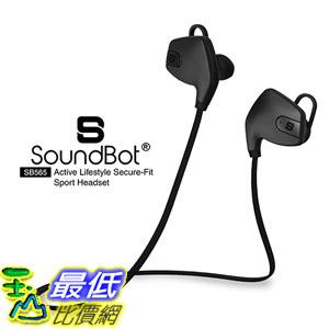 [美國直購] SoundBot SB565 耳機 Stereo Sports-Active Headset Water-Resistant Earbud High-Performance Earpho..