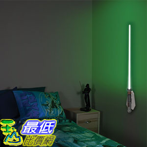 [美國直購] Uncle Milton 15046 星際大戰 光劍 壁燈 Star Wars Science Lightsaber Room Light Luke Skywalker