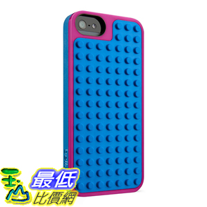 [美國直購] Belkin F8W283ttC01 LEGO Case / Shield for iPhone 5 / 5S and iPhone SE (Magenta / Blue) 手機殼