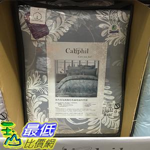 [105限時限量促銷] CALIPHIL COMFORTER SHEET SET 雙人加大床包兩用被組 6吋*6.2吋 純棉印花4件組 C100561