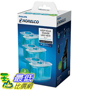 [美國直購] Philips 飛利浦 Norelco JC303/52 Smartclean Replacement Cartridge for Shaver Series 9000-3 count