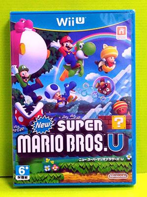 (現金價) Wii U 遊戲 新 超級瑪利歐兄弟 U /New Super Mario Bros. U (日版)