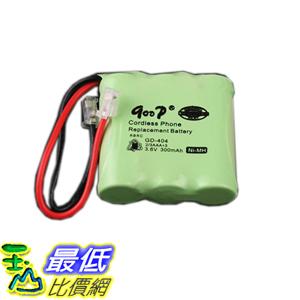 % [玉山最低比價網] 鎳氫 300mAh 3.6V 無線電話 充電電池 (19406_R28)