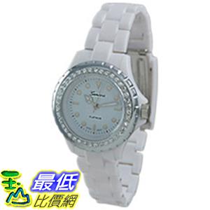 [美國直購 ShopUSA] Geneva 手錶 Platinum 6955.WHT (Women\
