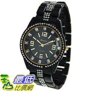 [美國直購 ShopUSA]Geneva 手錶 Platinum 2086.Black.Gold (Women\