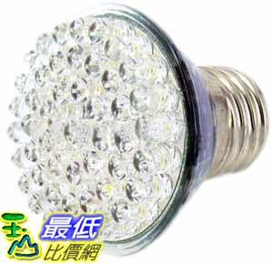 [玉山最低比價網] 居家生活用 高亮度 48燈 E27 超白光 超省電 110V 3W LED燈泡 (17195_MM02) $88