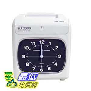 [玉山最低比價網] AMANO 六欄位電子式打卡鐘 ( BX2900 ) $4510
