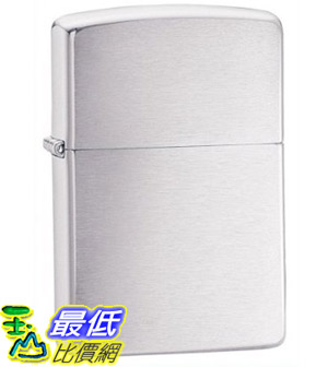 [美國直購 ShopUSA] Zippo Brushed Chrome Pocket Lighter 打火機 200 $761