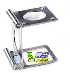 _a@[有現貨 馬上寄] 三折式 10倍 高倍率 照布鏡 1寸折迭式放大鏡 (16190B_Q19) $106