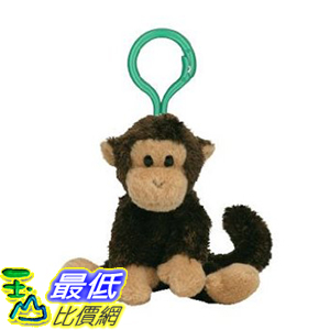 [美國直購ShopUSA] TY 鑰匙扣 Beanie Baby - SWINGER the Monkey (Key clip)$435