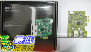 [美國直購 ShopUSA] Cavalry 主機卡 USB 3.0 PCI-E 2.0 Host Card J112 $1998