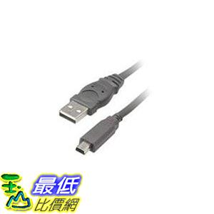 [美國直購 ShopUSA] Belkin 電纜 F3U138-06 Pro Series USB 5-Pin Mini-B Cable (6-Feet) $ 398