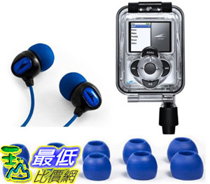 [美國直購 ShopUSA] H20 Audio IN3 Waterproof Case for iPod Nano 3G (3rd Gen) with Headphones 耳機 $4078