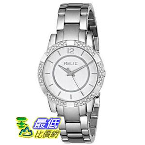 [美國直購] Relic 手錶 by Fossil ZR34201-040 Payton Glitz Silver Tone Stainless Steel Womens Watch $2719