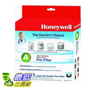 [104 美國直購] Honeywell 過濾器 HRF-AP1 / Filter (A), Universal Carbon Air Purifier Replacement Pre-Filter ..