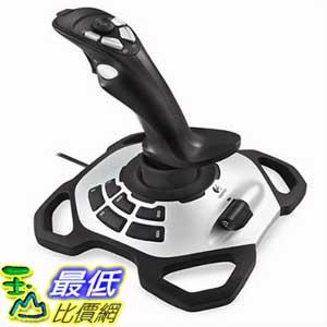 [美國直購] 搖桿 Logitech 963290-0403 Extreme 3D Pro Joystick (Silver/Black)