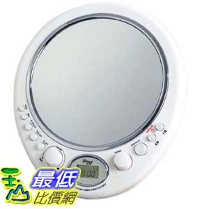 [美國直購 ShopUSA] Pyle 時鐘收音機 Home PSR9 Water Resistant Clock Radio - Anti Fog Mirror $1266