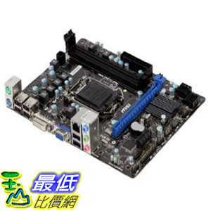 [美國直購 ShopUSA] MSI LGA1155/Intel 主機板 H61/DDR3/A&GbE/MicroATX Motherboard H61M-P31 (W8) by MSI $2199