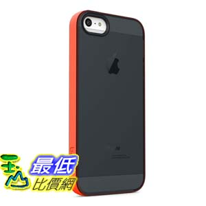 [美國直購 USAShop] Belkin 保護殼 Grip Candy Sheer Case / Cover for iPhone 5 and 5S (Black / Peach)