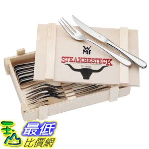 [103 美國直購] WMF Steak Cutlery 12 Piece Set 德國 牛排刀叉12PC(木盒), 不鏽鋼牛排刀叉組 $3199